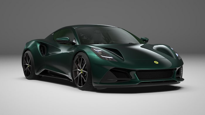 Lotus Emira First Edition 2022 Dark Verdant.