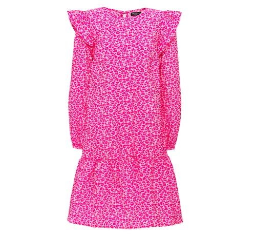 Vårmode 2021: rosa vårklänning.