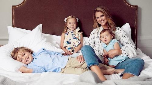 """""""Ich hatte das Glück, dass meine Kinder einfache Babys waren"""" – Prinzessin Madeleine von Schweden."""