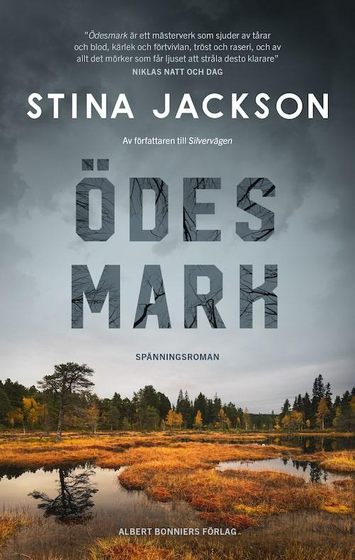 Gillar du svenska deckare och spänningsromaner? Då ska du inte missa Stina Jacksons nya roman, Ödesmark. Klicka på bilden och kom direkt till boken.