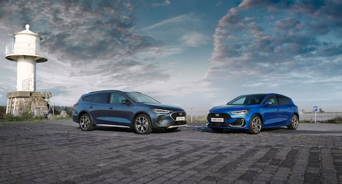 Ford Focus Active och Ford Focus ST-Line.