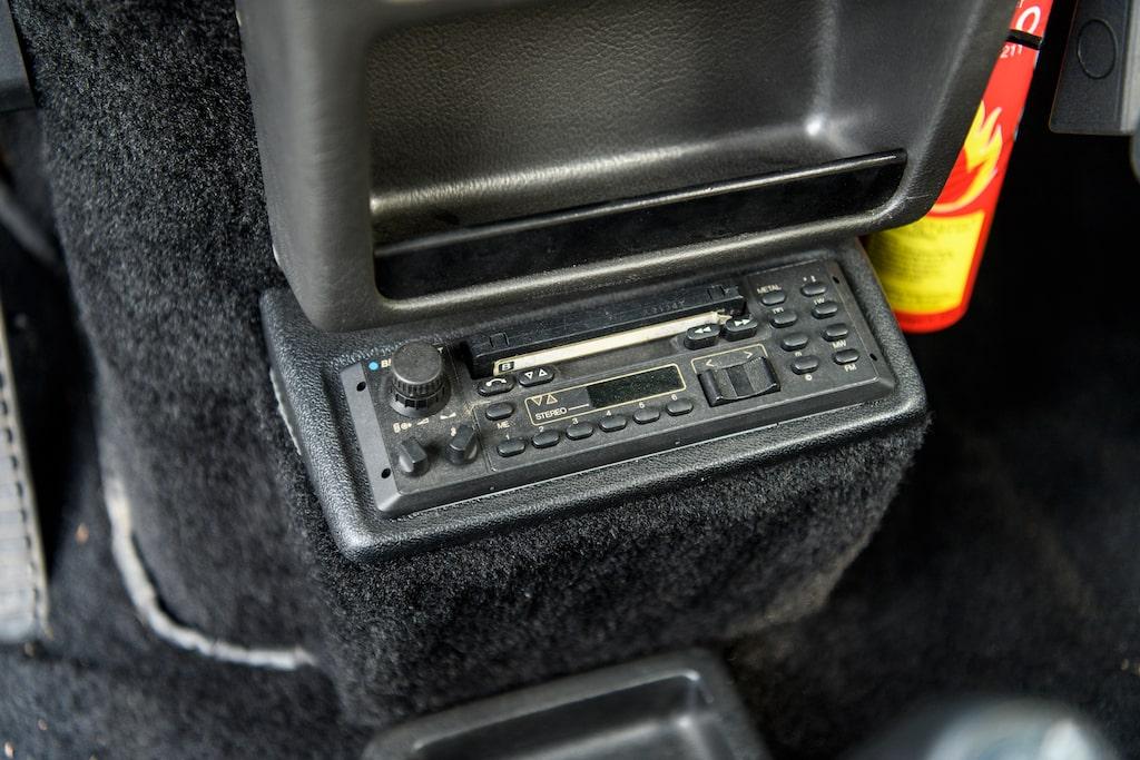 Turbo 2 hade få bekvämlighetern, men stereo fanns.