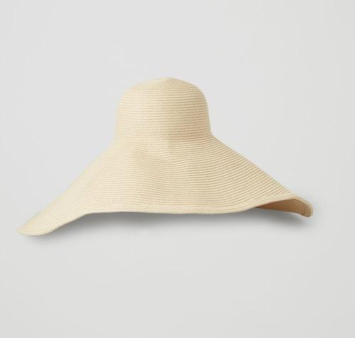 Bredbrättad hatt från Cos.