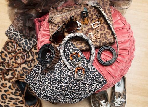 """""""Allt leopardmönstrat i garderoben har alltid fått extra mycket kärlek av mig."""""""