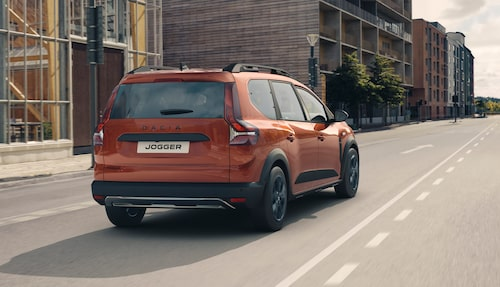 Dacia Jogger kan utrustas med dragkrok, maximal dragvikt är 1 200 kilo.