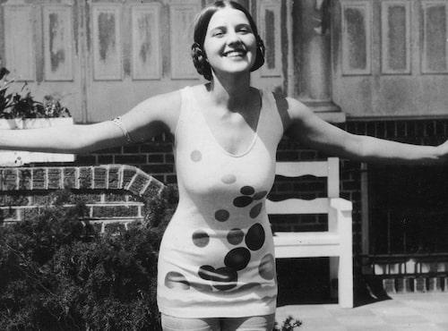 Miss America 1926, Norma Smallwood, gjorde prickar populärt.