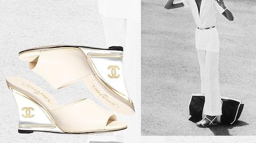 Kilklackar från Chanel.