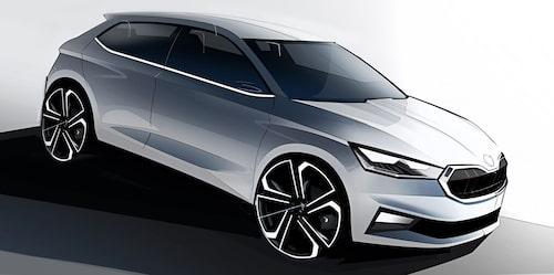 Dagens Fabia är 399,7 centimeter lång. Nya Fabia blir 410,7 centimeter och springer därför om både Seat Ibiza och Volkswagen Polo med ungefär fem centimeter.
