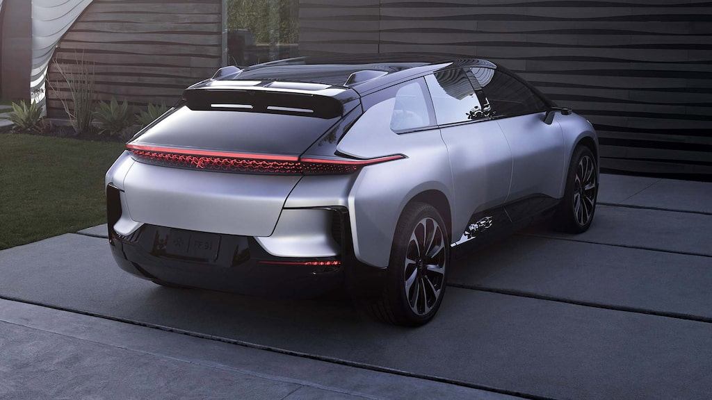 Faraday Future FF 91.