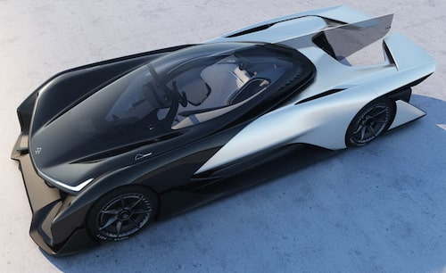 Faraday Future FFZero1 Concept.