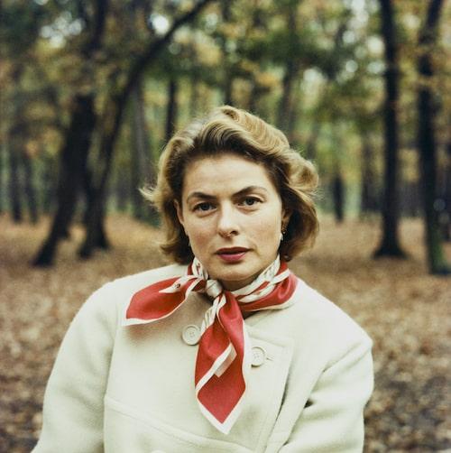 Ingrid Bergman, stilsäker både på vita duken och privat.