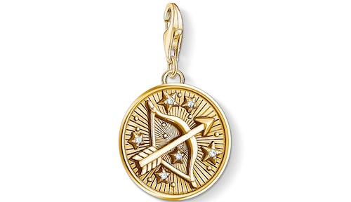 Klicka hem ett personligt smycke med Skyttens stjärntecken.