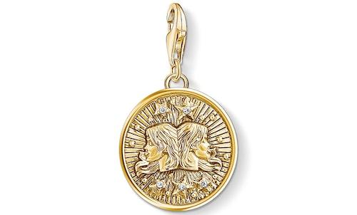 Klicka hem ett personligt smycke med Tvillingarnas stjärntecken.