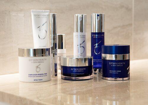 Hudvårdsrutinen från ZO Skin Health.