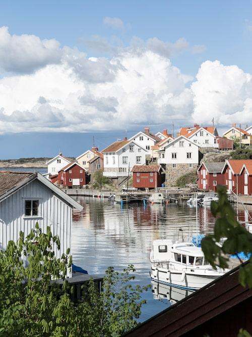 Gullholmen utanför Orust.