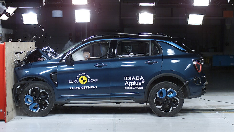 Lynk & Co 01 är en av de nya bilmodeller som ingick i Euro NCAP:s senaste testomgång.
