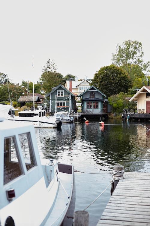 I idylliska Vaxholm är Victoria helst på sommaren.