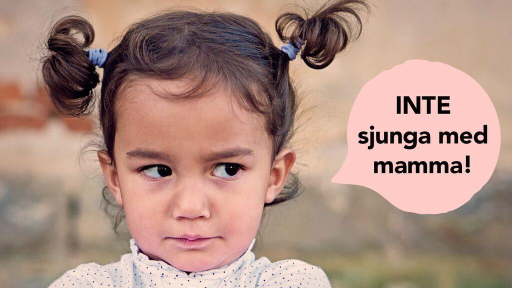 Har du testat att sjunga med en 2-åring?