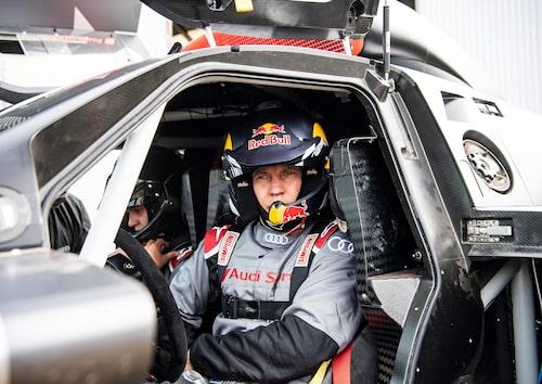 Mattias Ekström är en av tre förare som kör Audi RS Q e-tron i nästa års Dakarrally.