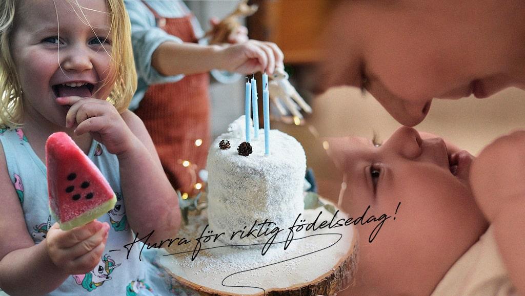 """Hur är det att föda barn på skottdagen? Amanda vet, och i år firar hennes fyra-åriga dotter sin första """"riktiga"""" födelsedag"""