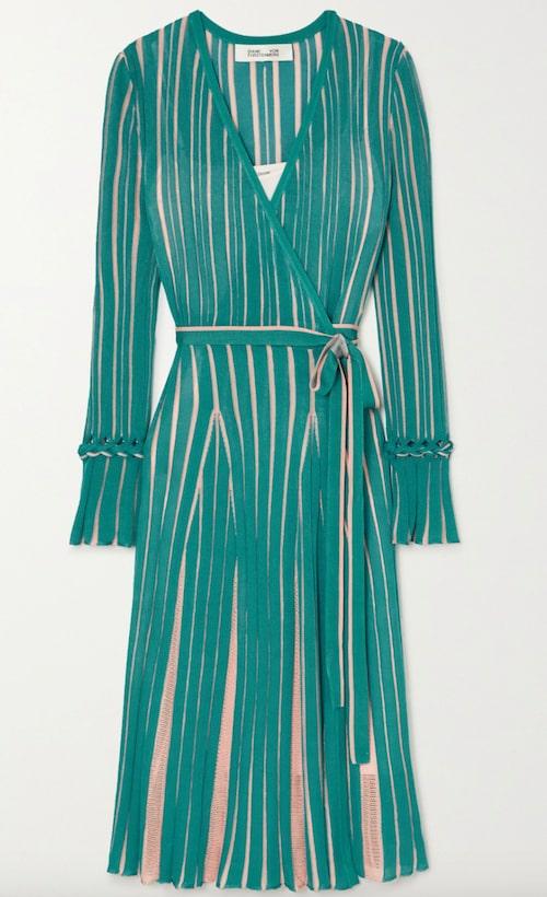 Omlottklänning från Diane von Furstenberg.