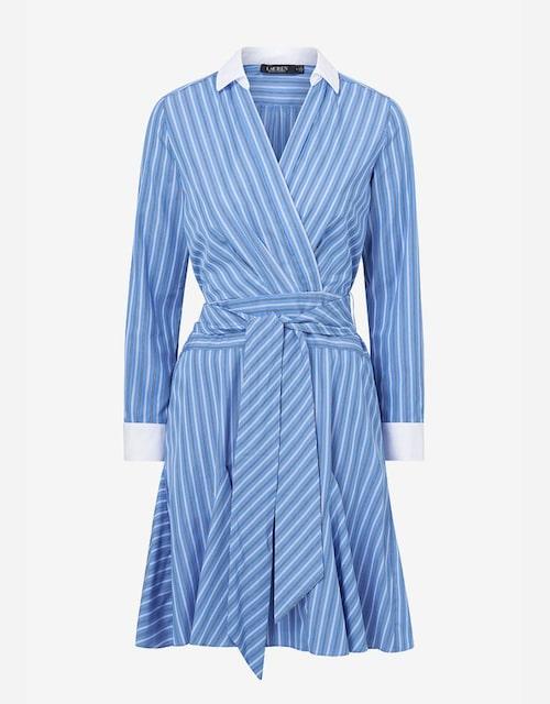 Omlottklänning från Ralph Lauren.