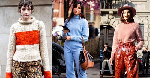 Består din garderob till störst del av färgglada eller mönstrade plagg? Hitta en stickad tröja som passar in i just din stil.