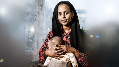Journalisten Bilan Osman på Expo vill att hennes son ska slippa vara rädd under uppväxten.