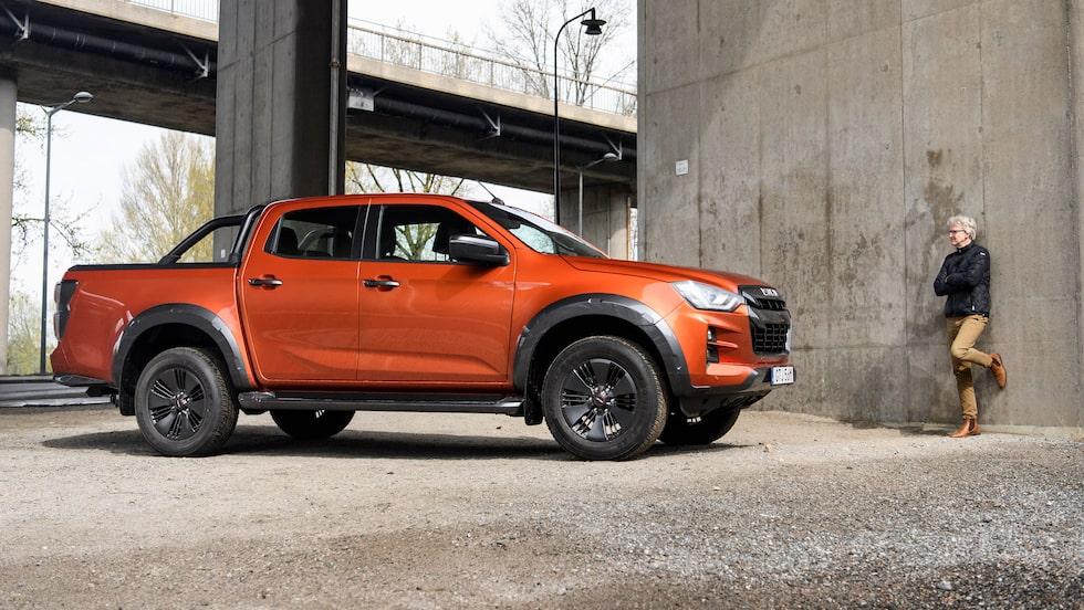 När flera konkurrenter lämnat pickupmarknaden står Isuzu ensam i fokus.