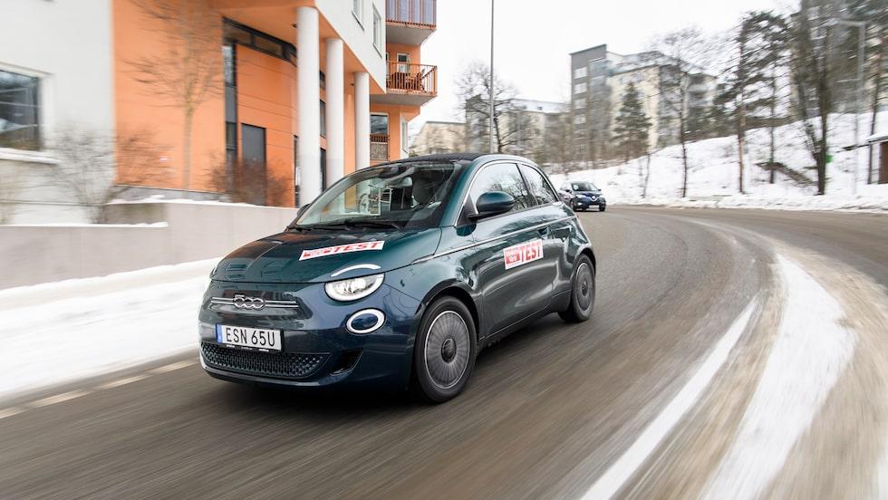 Fiat 500 som elbil kan bli undantaget när Stellantis delar plattformar. 500 ska också bli skåpbil i sommar.