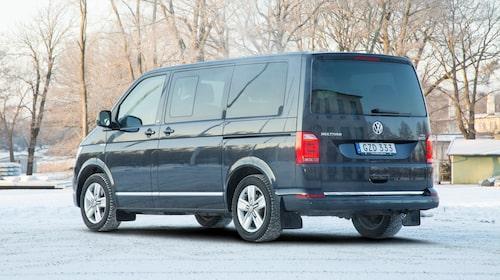Volkswagens populära (folk)transportbuss finns i rad olika utföranden.