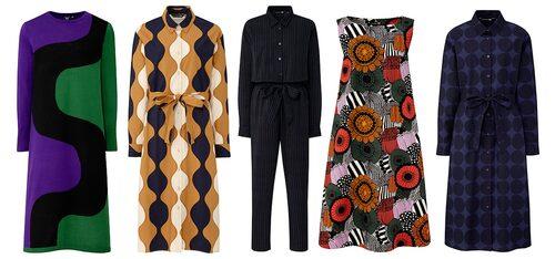 Klänningar och jumpsuit från Uniqlo x Marimekko.