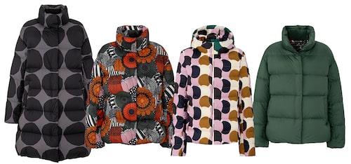 Jackor från Uniqlo x Marimekko.