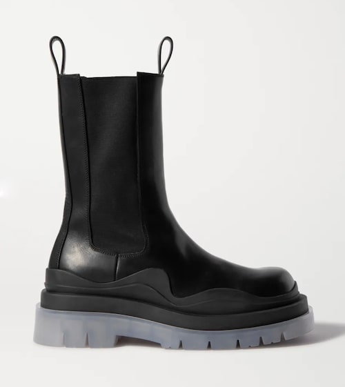 Boots från Bottega Veneta.