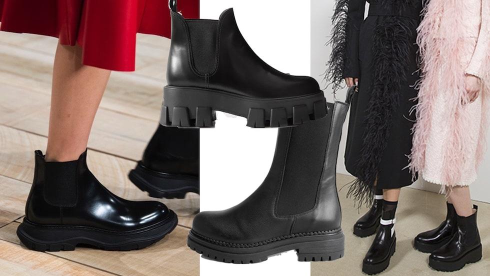 Chunky boots - vårens snyggaste och smartaste skor.