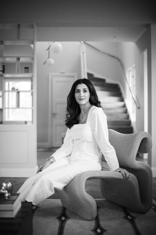 Reena Sarwar har fått det rofyllda hem hon eftersträvade.