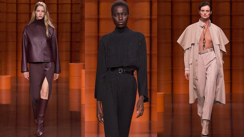 Höstmode 2021: tidlöst mode från Hermès.