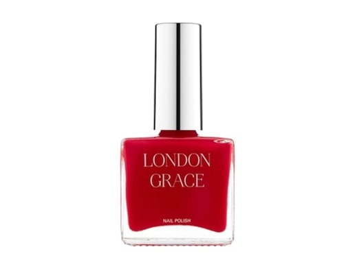 Rött nagellack från London Grace.