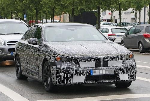 Nya BMW 5-serie i laddhybrid-utförande.