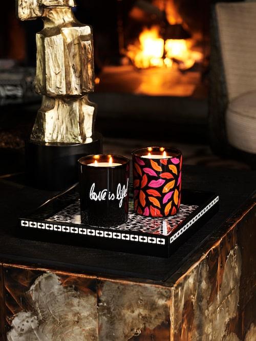 Doftljus från Diane von Furstenberg x H&M Home.