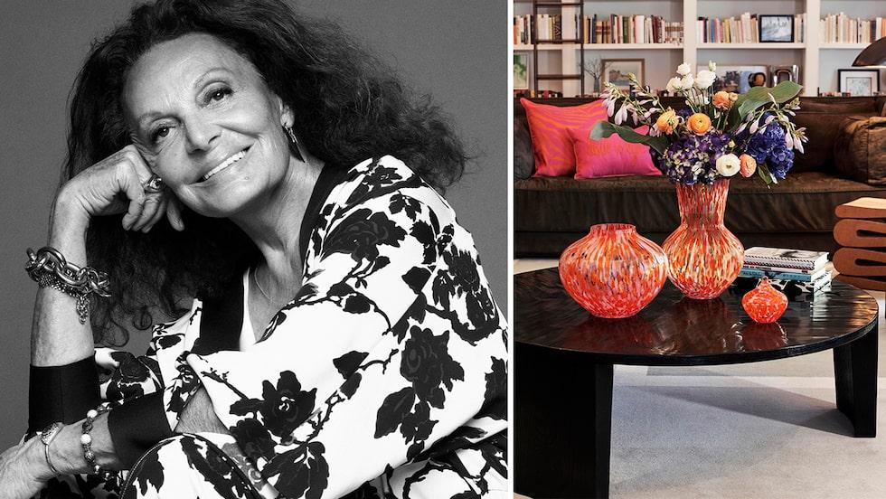 Diane von Furstenberg och H&M Home lanserar inredningskollektion.