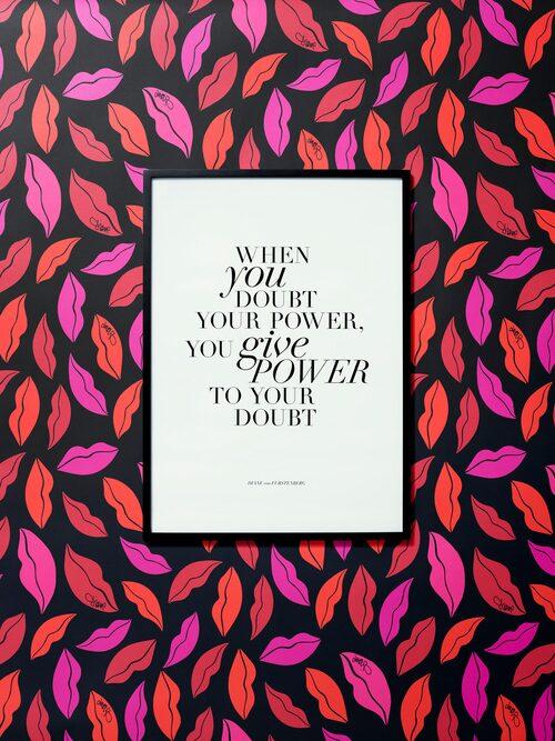 Poser med citat, Diane von Furstenberg x H&M Home.