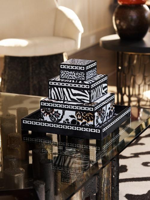 Inredningsdetaljer från Diane von Furstenberg x H&M Home.