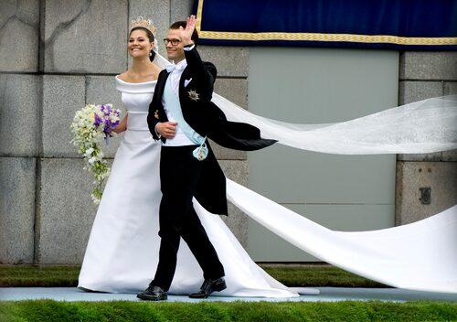 Kronprinsessan Victoria och prins Daniels bröllop.