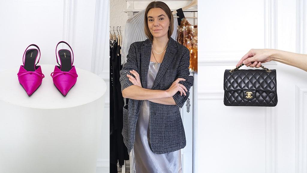 Emelie Gustafsson Maistedt fick idén till delningstjänsten Gemme Collective, där man kan hyra kläder, som student för sju år sedan.