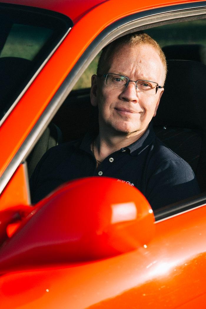 Per Baumann kör sin M3 sparsamt. På 17 år har den inte gått mer än 2 000 mil.