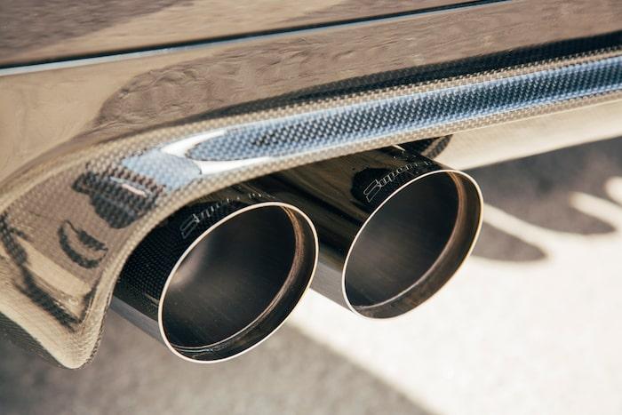 Supersprint-avgassystemet ger en väldigt hård, metallisk och hög avgaston.