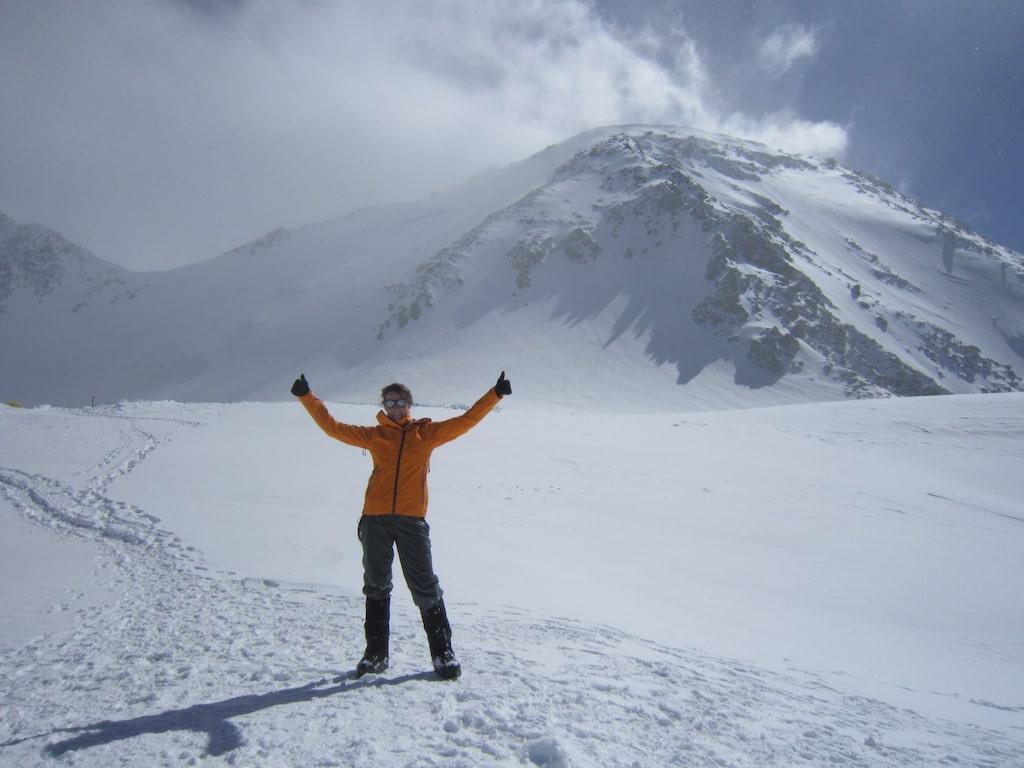 På Mount McKinley/Denali, Nordamerikas högsta berg, 2014.