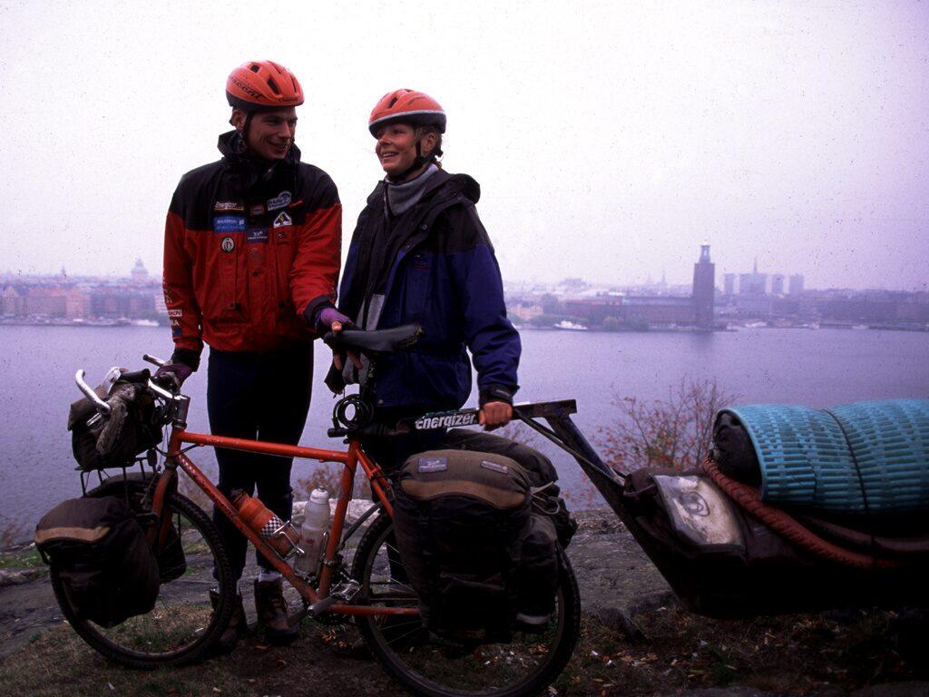 Renata och Göran hade en gemensam dröm om att runda USA på cykel och kajak.