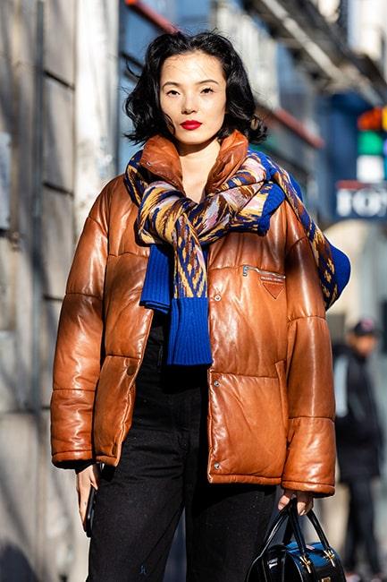 Välj gärna en färg på tröjan som kan stå i motsats till jackans.